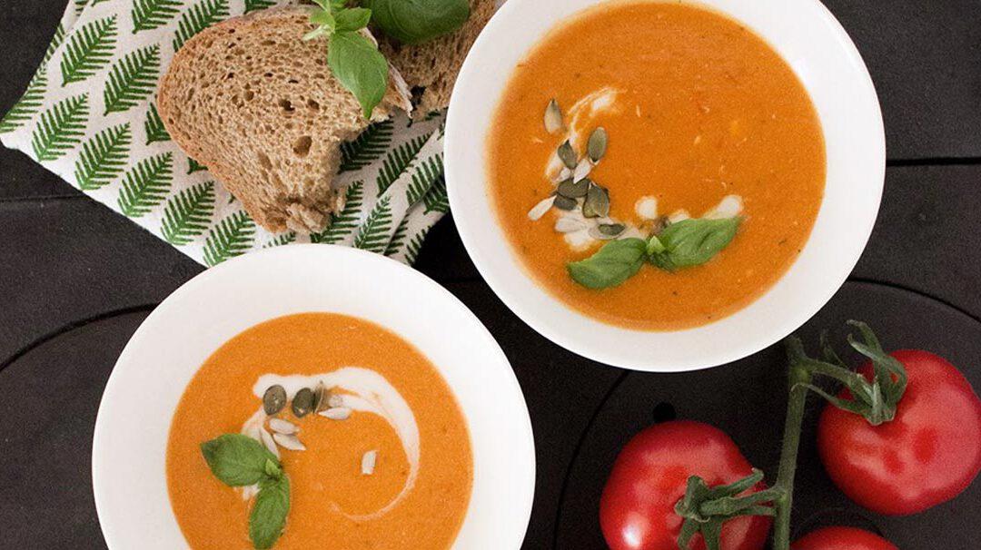 Kermainen tomaattikeitto